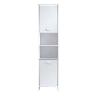 Crichton 40 X 170cm Free-Standing Cabinet By Rebrilliant