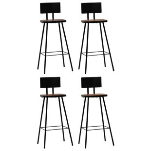 Pateley 74cm Bar Stool (Set Of 4) By Williston Forge
