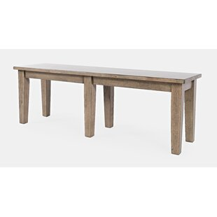 Blairmore Wood Bench by Gracie Oaks