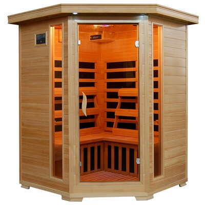 3 Person FAR Infrared Sauna Radiant Saunas