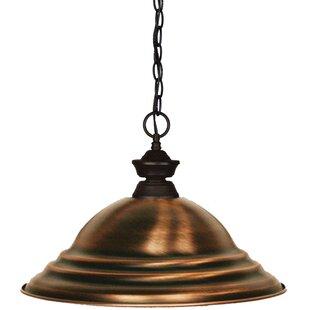 Red Barrel Studio Chapa 1-Light Cone Pend..
