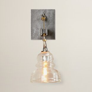 Demars 1-Light Armed Sconce by Williston Forge