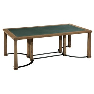 Elland Metal And Stone Coffee Table by Williston Forge Savings
