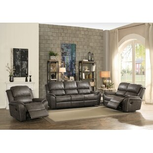 Compare Tinoco Reclining Motion 3 Piece Living Room Set by Latitude Run Reviews (2019) & Buyer's Guide