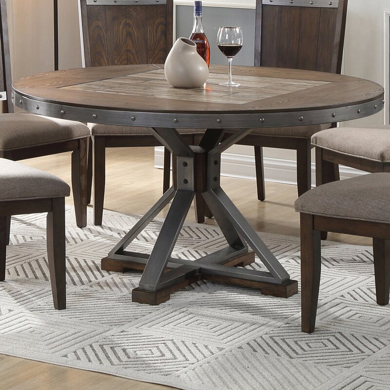 Williston Forge Lomba Round Dining Table Reviews Wayfair