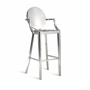 Salazar 30 Bar Stool Everly Quinn