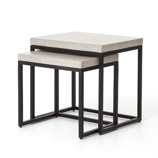 Maximillian 2 Piece Nesting Tables