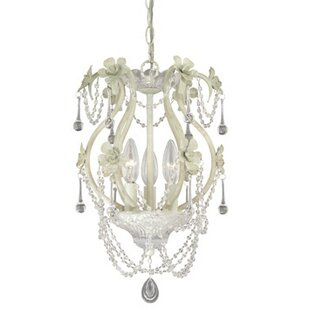 Abbate 3-Light Crystal Pendant by Ophelia & Co.