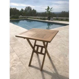 Chatham Square Folding Teak Bistro Table