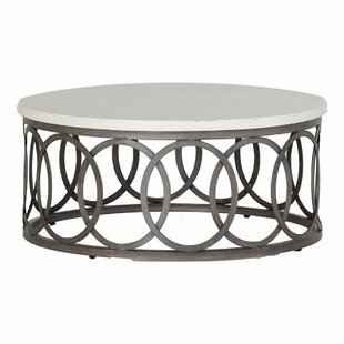 Ella Wrought Aluminum Coffee Table