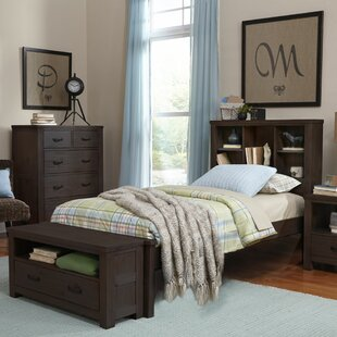 Read Reviews Bedlington Platform Bed with Bookcase ByGreyleigh