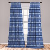 Striped East Urban Home Curtains Drapes You Ll Love In 2021 Wayfair