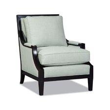 Loki Exposed Wood Armchair by Sam Moore