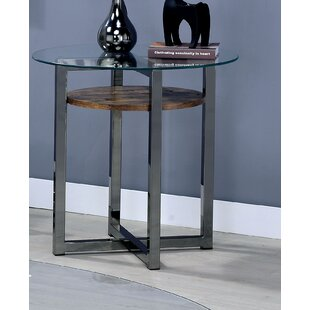 Dex End Table by 17 Stories