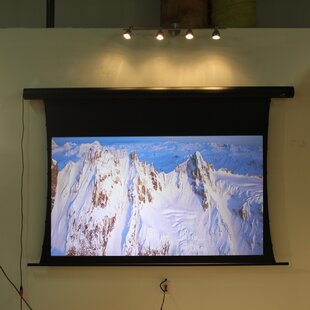 Saker White Electric Projection Screen