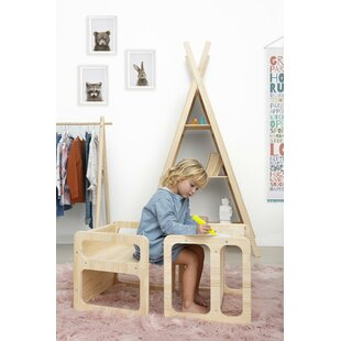 Hammer Children's 2 Piece Table And Chair Set By Harriet Bee