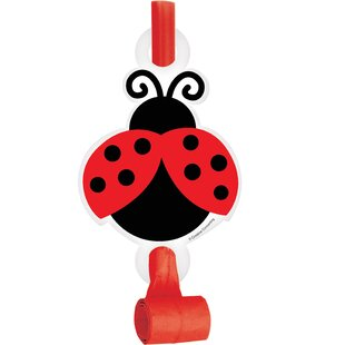 Ladybug Plastic/Paper Disposable Party Favor Set (Set of 24)