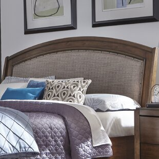 Best Price Loveryk Upholstered Sleigh Headboard by Darby Home Co