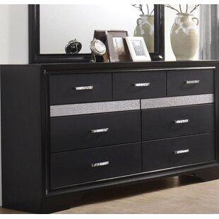 Pentico 7 Drawer Double Dresser by Orren Ellis