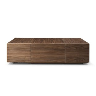 Hutchins Coffee Table with Storage by Brayden Studio