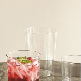 Spanish 17 oz. Drinking Glass (Set of 4) by Canvas Home