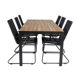 Shreyas 6 Seater Dining Set By Sol 72 Outdoor