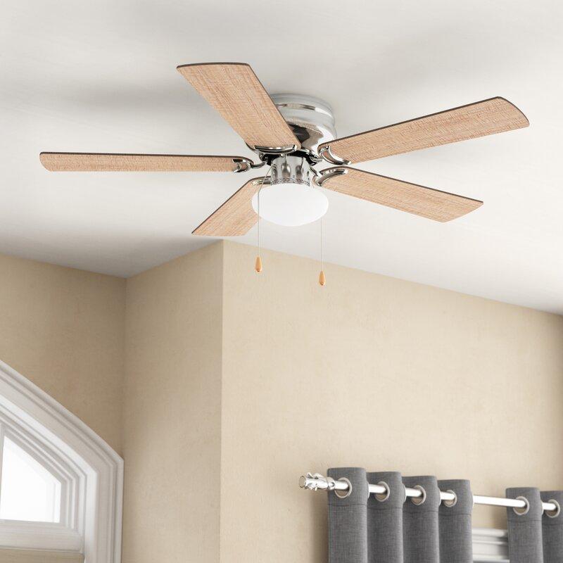 """42"""" Bagtas 5 Blade Led Ceiling Fan"""