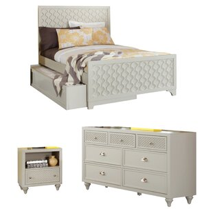 My Home Furnishings Amanda Panel Configurable Bedroom Set