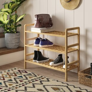 3 Tier Shoe Stand Rack By Rebrilliant