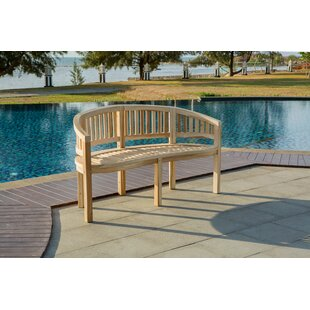 Chessani Teak Bench By Sol 72 Outdoor