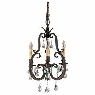 Astoria Grand Gilcrease 3-Light Candle St..