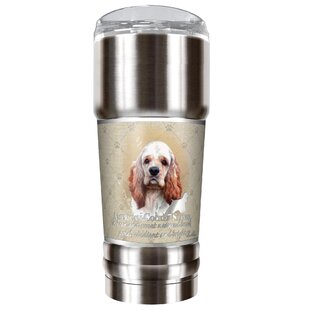 Howard Robinson's American Cocker Spaniel 32 oz. Stainless Steel Travel Tumbler
