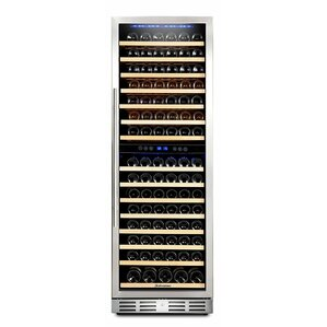 157 Bottle Dual Zone Convertible Wine Cellar by Kalamera