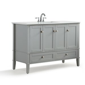 Bathroom Vanity Under $500 48 inch bathroom vanities you'll love | wayfair