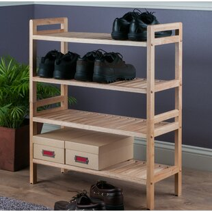 Online Reviews Mercury 12 Pair Shoe Rack (Set of 2) By Winsome