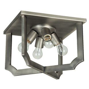 Ophelia & Co. Rahul 4-Light Flush Mount