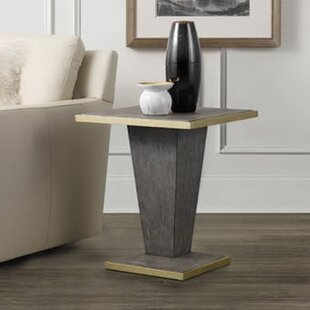 Reviews Shagreen End Table by Hooker Furniture