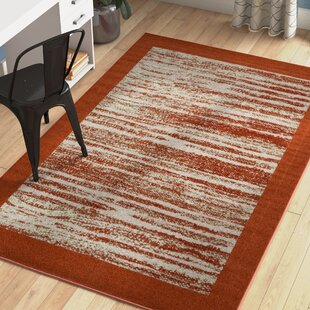 Aerial Terracotta Indoor/Outdoor Area Rug