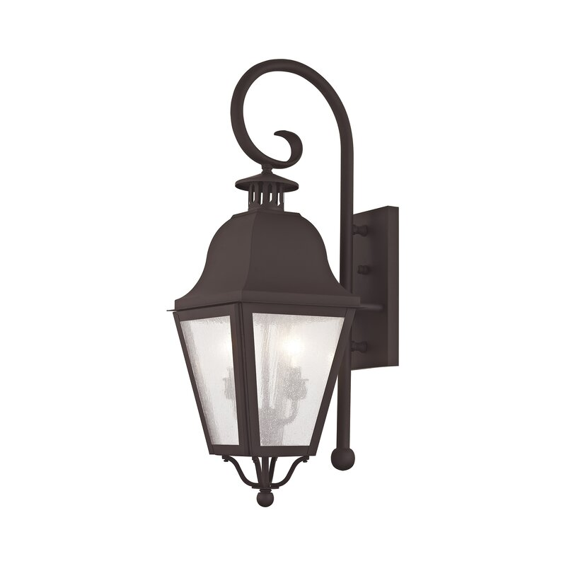 Alcott Hill Goodhue Outdoor Wall Lantern Wayfair