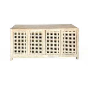Driftwood Lattice Credenza by Studio A Home