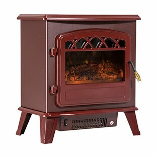 Rey Free Standing Electric Fireplace Heater by Charlton Home