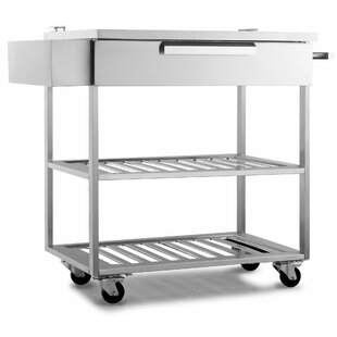 NewAge Products Outdoor Kitchen Bar Serving Cart