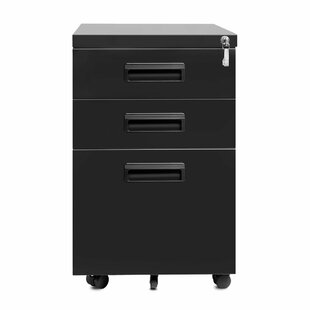 Monsen 3-Drawer Vertical Filing Cabinet
