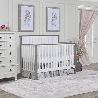 Alexa II 5 in 1 Convertible Crib Dream On Me Color: Silver/Gray Pearl