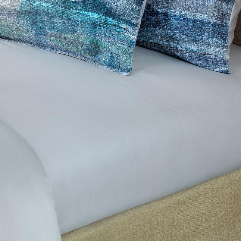 Wrought Studio Imani 300 Thread Count 100 Cotton Flat Sheet Wayfair