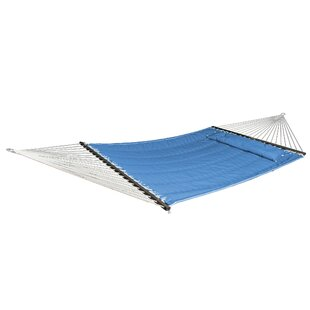 Mark Quilted Olefin Double Tree Hammock