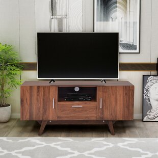 Merrick TV Stand for TVs up to 43 with Fireplace Included by Corrigan Studio