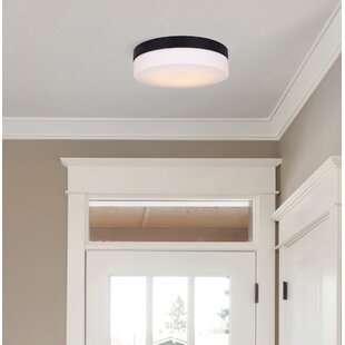 Valera LED Flush Mount by Wrought Studio