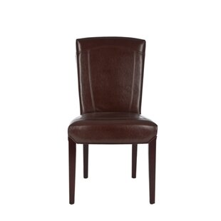 Safavieh Ken Bi-Cast Leather Side Chair (..