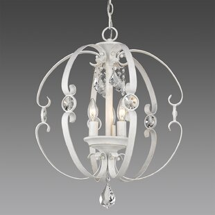 Top Reviews Hardouin 3-Light Globe Chandelier By Willa Arlo Interiors